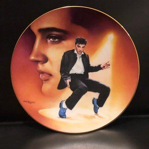Elvis Presley Limited Edition Decoration Plate